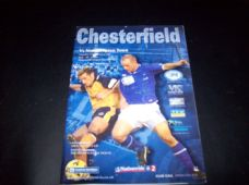 Chesterfield v Northampton Town, 2001/02